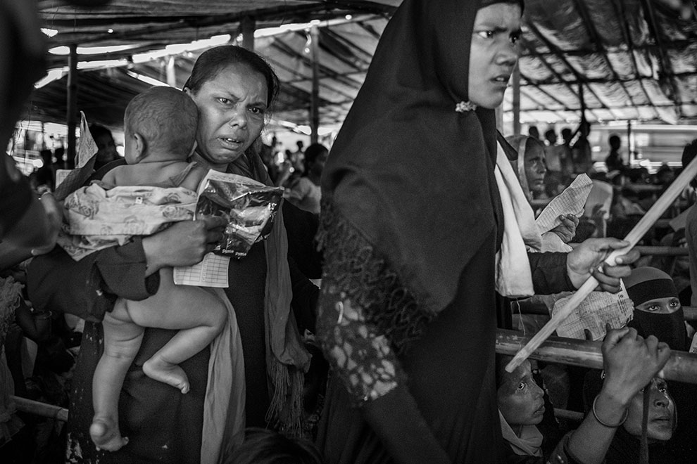 I am Rohingya: photo story by Richard Tsong-Taatarii